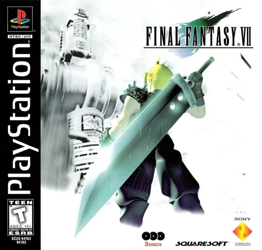 FFIV box art PS1