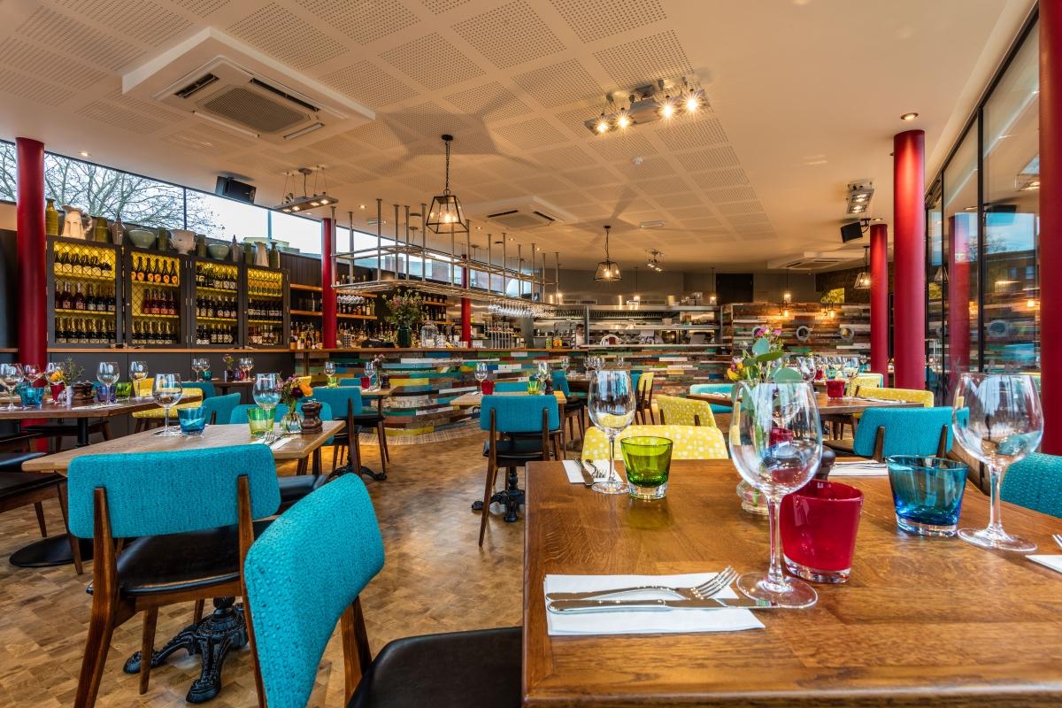 Guard House restaurant interior