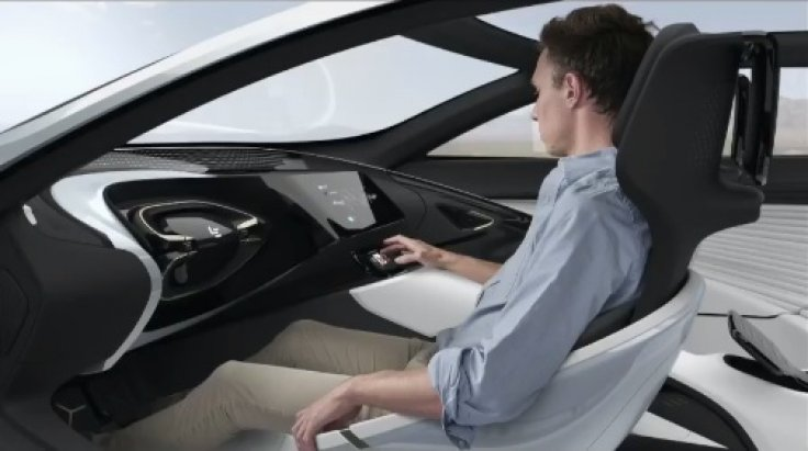 LeSEE electric car interior