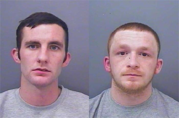Liam Laing Connor Hammond murderers Cornwall