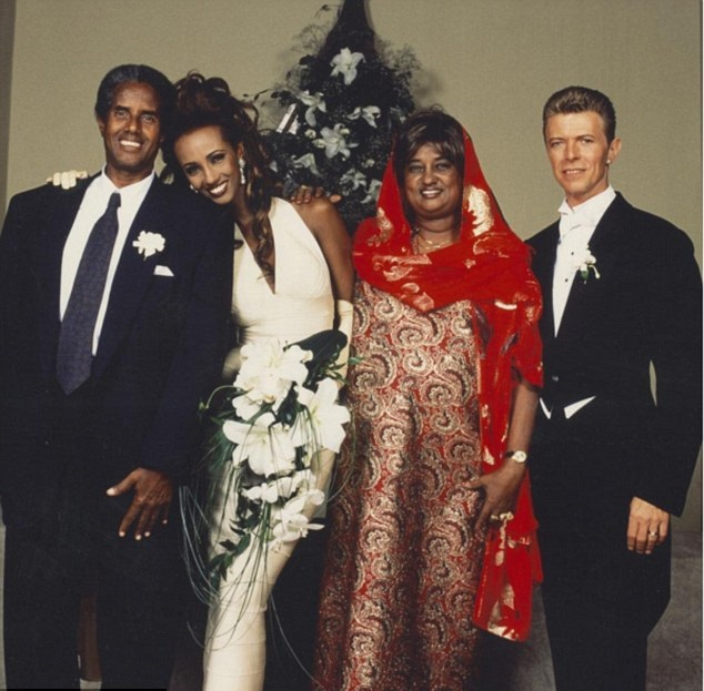 Iman Shares Secret Of 24 Year Marriage To Music Icon David