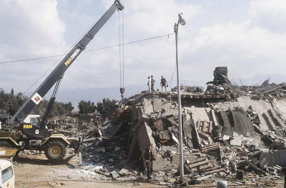 US Marine barracks bombing in Beirut
