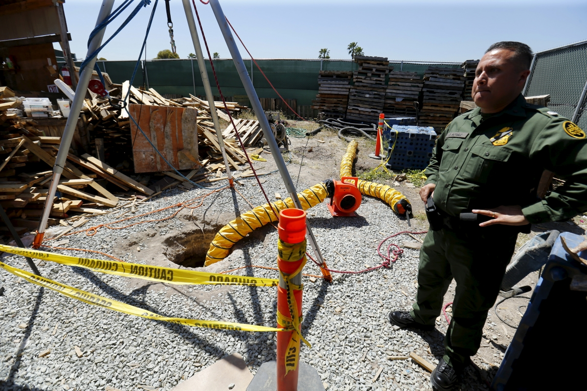 Tijuana to San Diego drug tunnel
