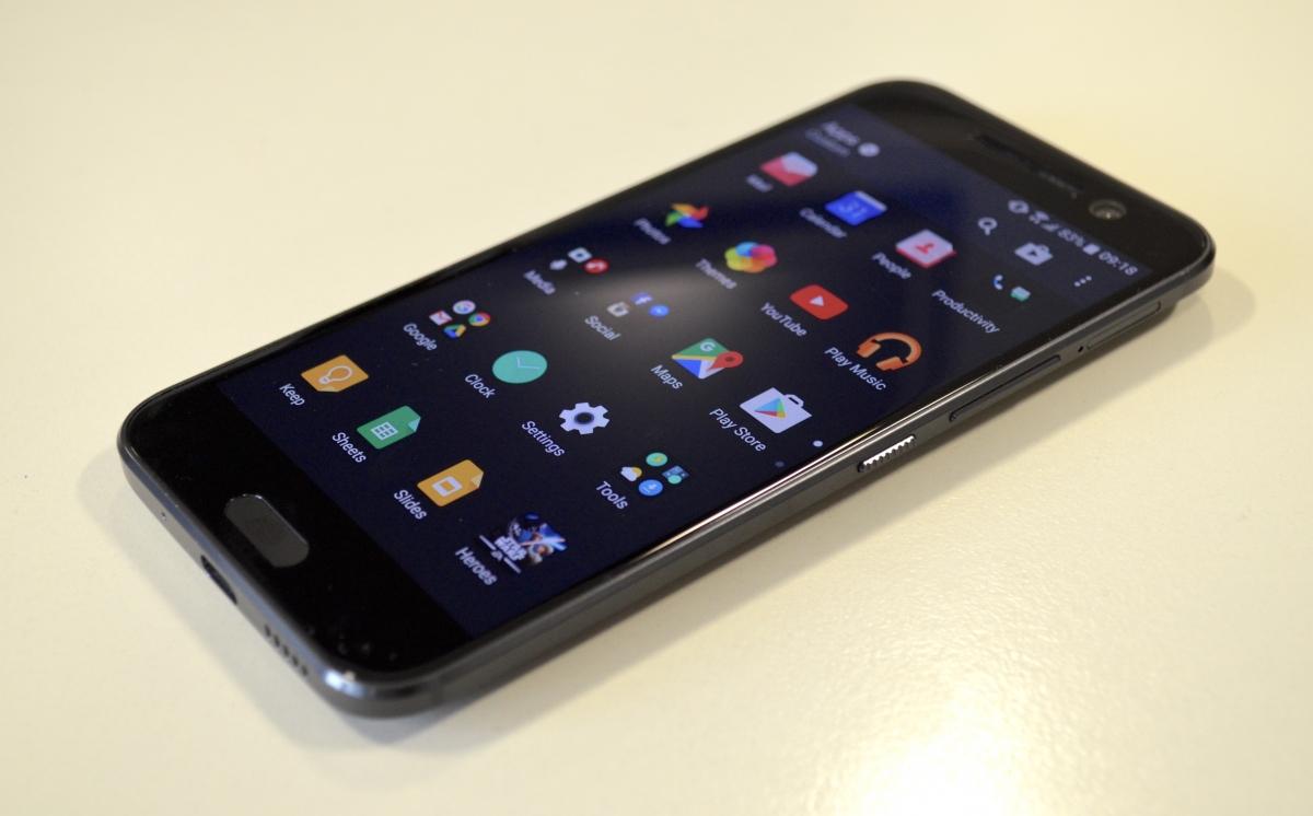HTC 10 Review Sense UI