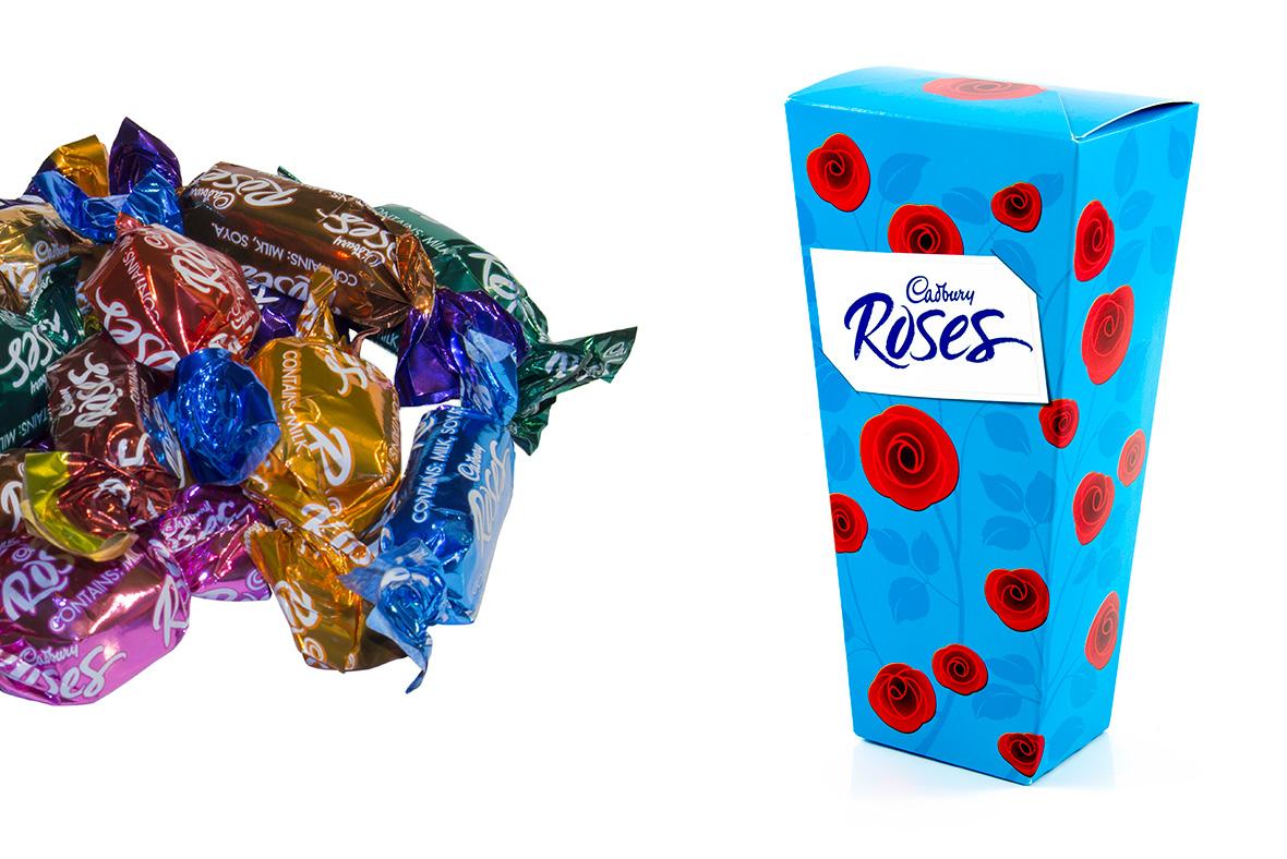 Roses cadbury