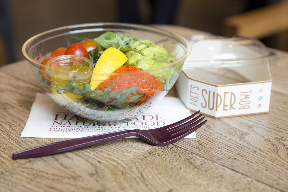 Pret's new superfood salad