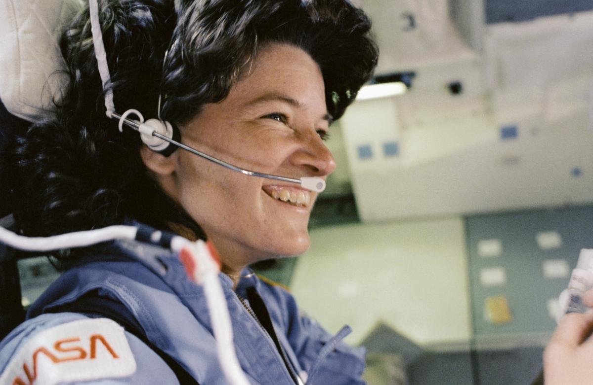 Astronaut Sally Ride
