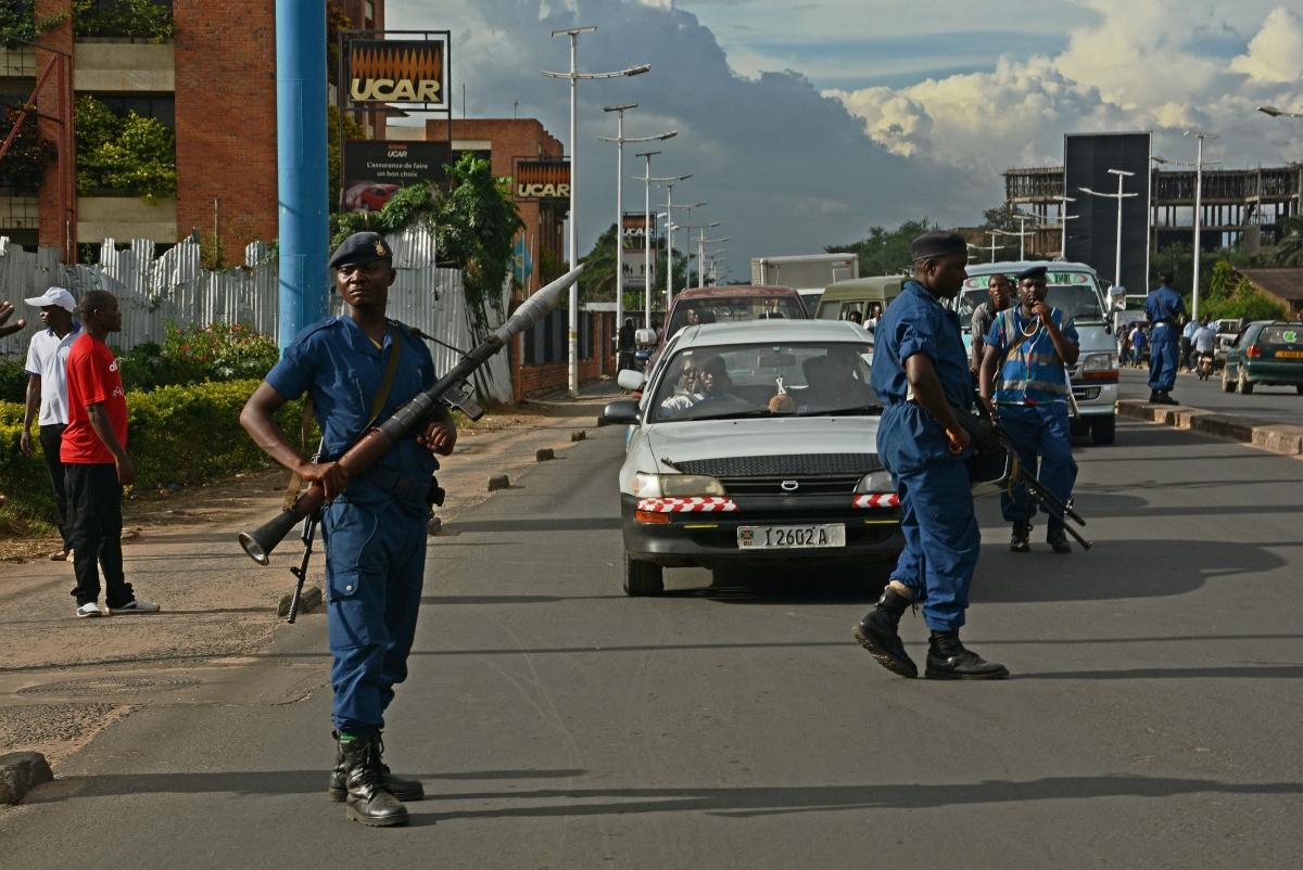 Police in Burundi