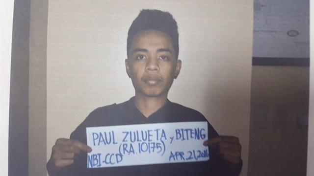 Paul Biteng mugshot