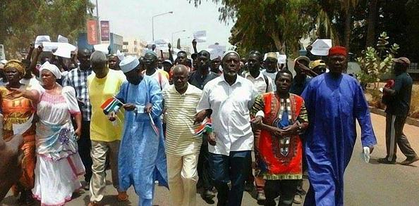 Banjul protests