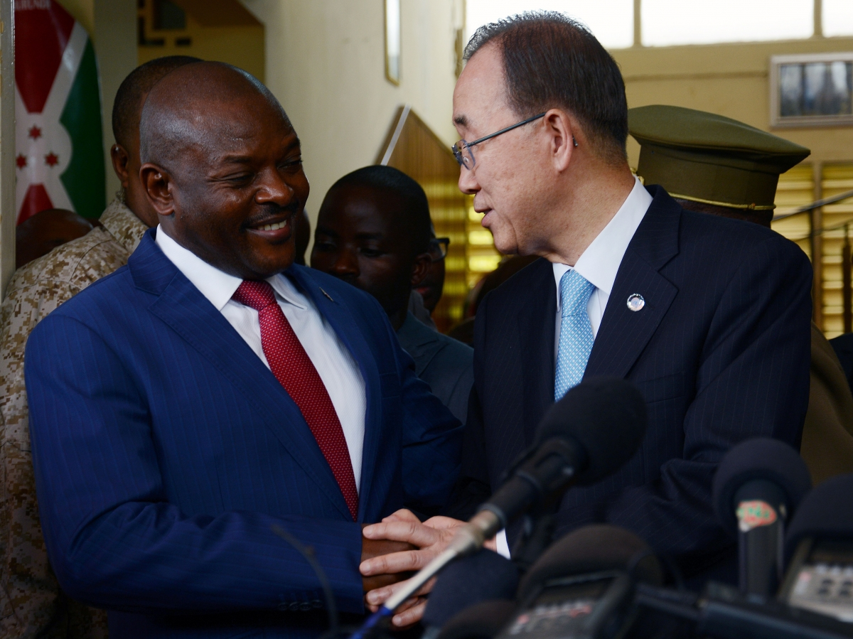 UN police force in Burundi