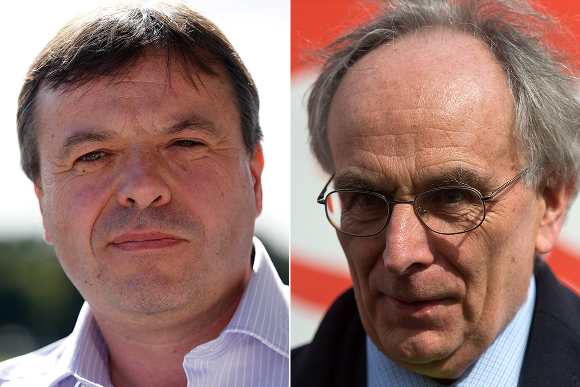Arron Banks, Peter Bone