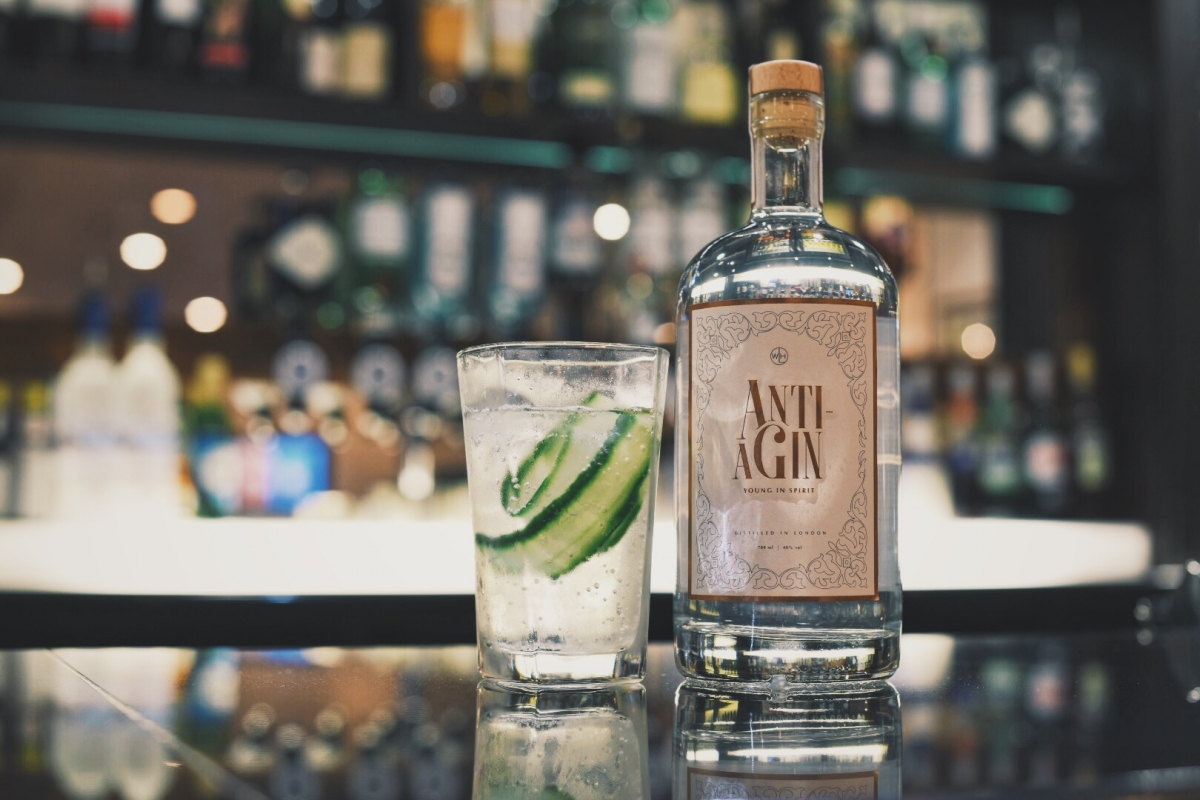 Anti-aGin, the anti-ageing gin