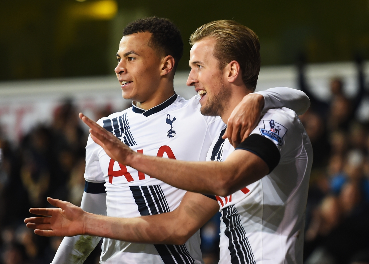 Dele Alli and Harry Kane