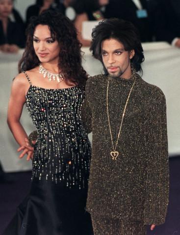 Mayte Garcia with Prince