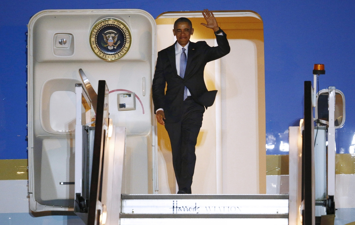Obama UK visit April 2016