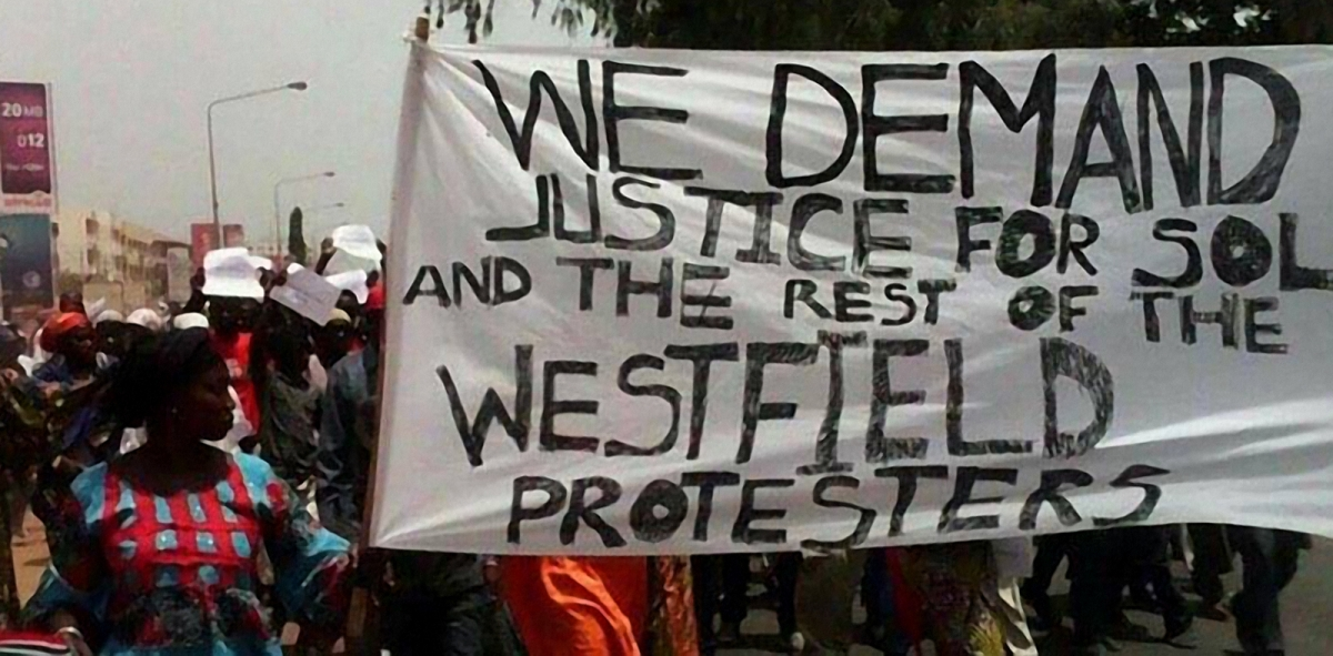Protests in Gambia