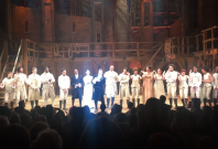 Hamilton cast sing Let\'s Go Crazy