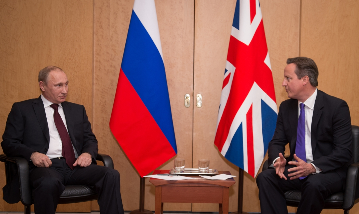 Putin Cameron