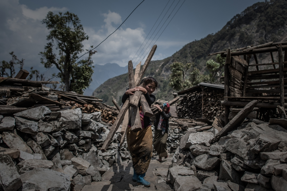 Nepal\'s women speak one year after the earthquake: \'I can\'t believe he has gone\'