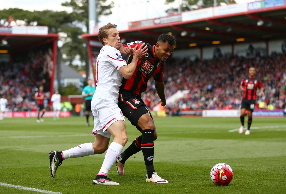 Callum Wilson (right) recently returned to action