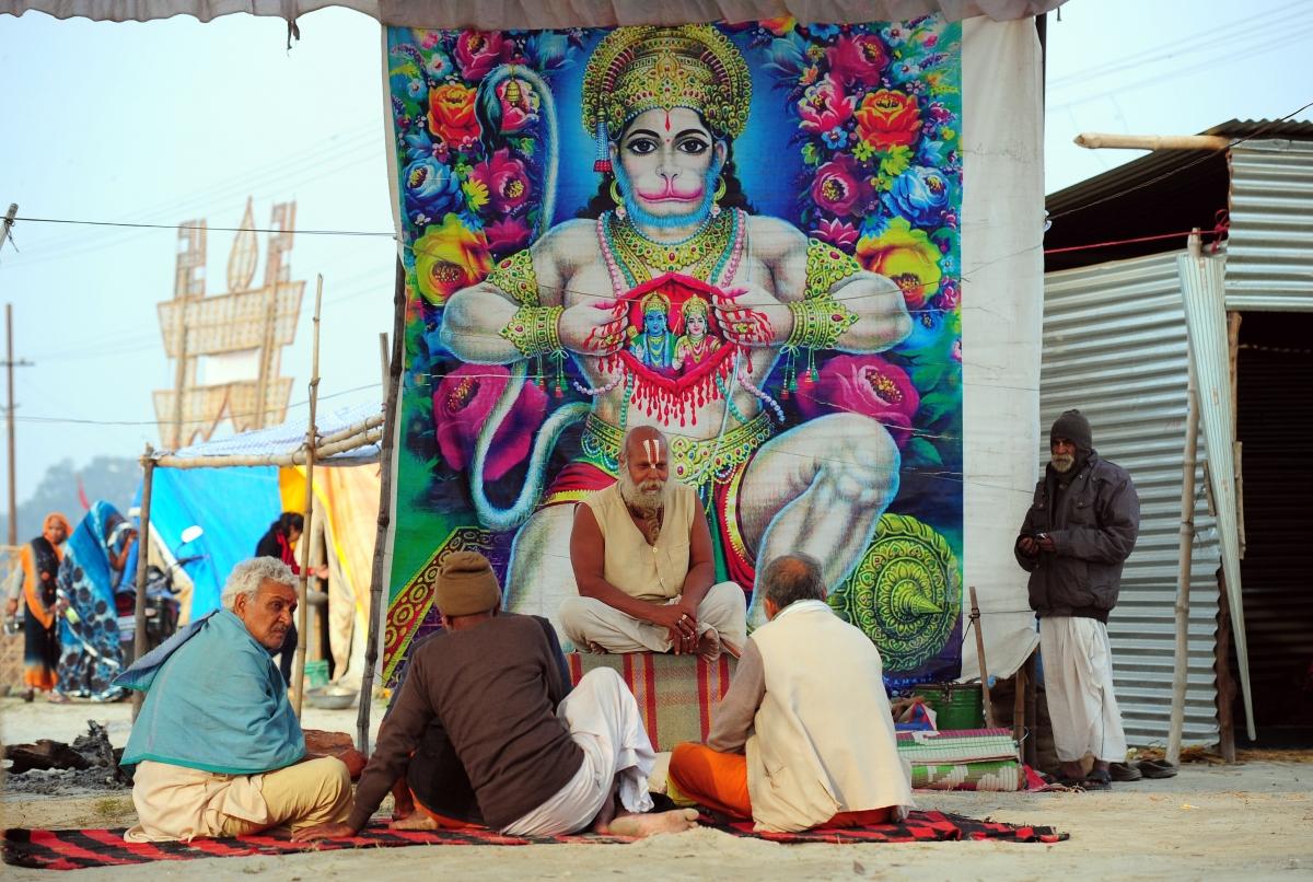 Hanuman devotion