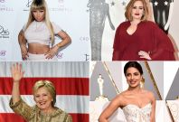 Adele, Nicki Minaj, Hilary Clinton, Priyanka Chopra