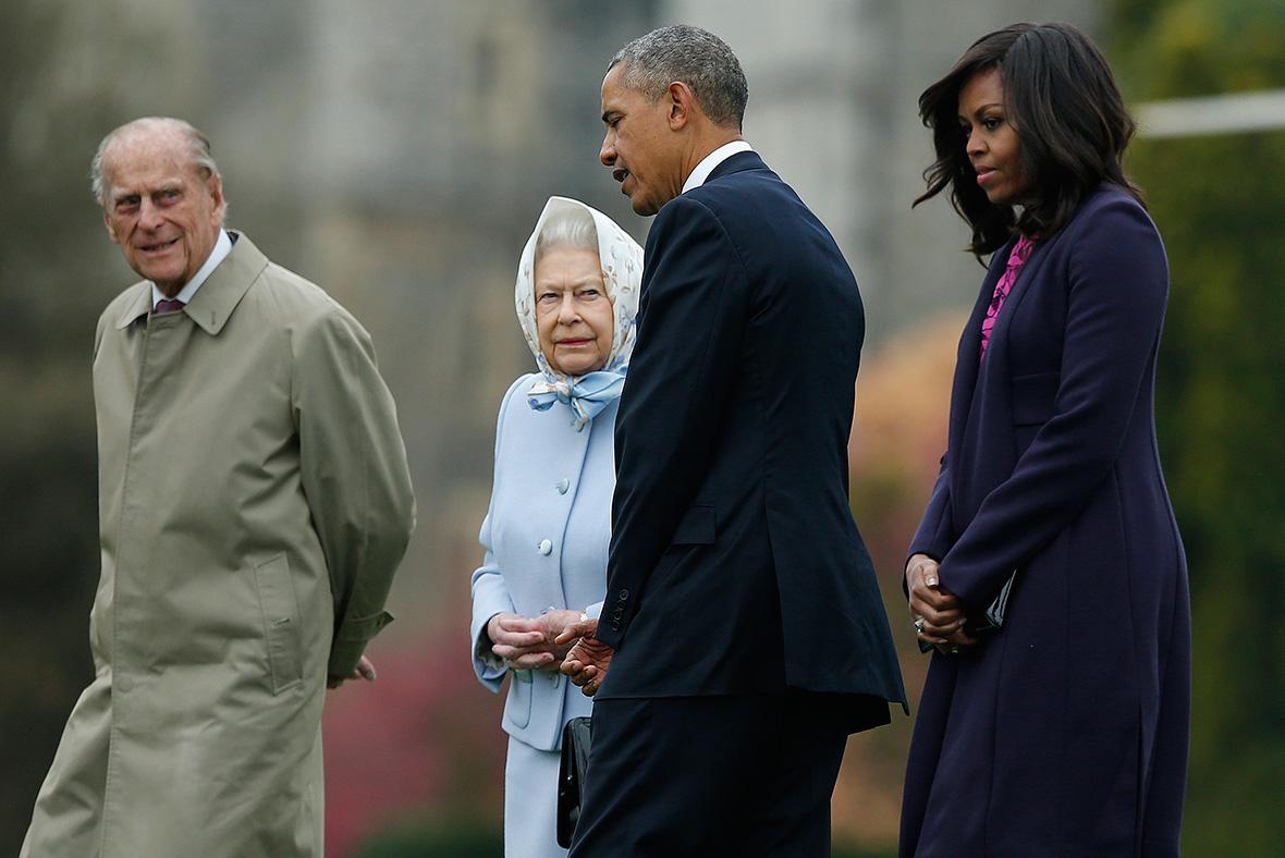 Barack Obama in UK