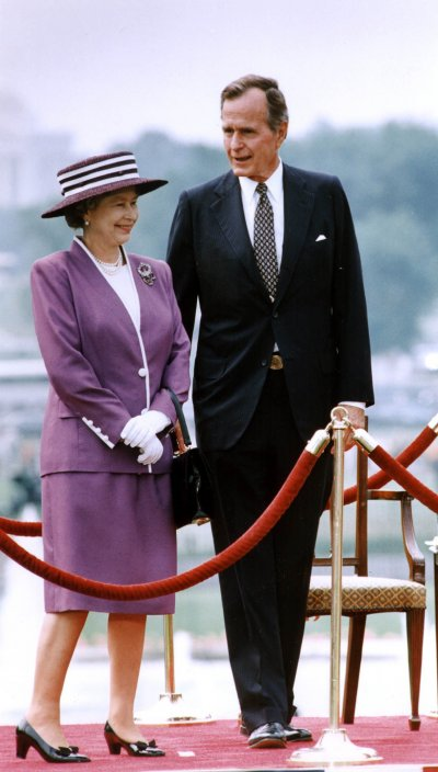 All The Queen S Us Presidents From Eisenhower To Obama