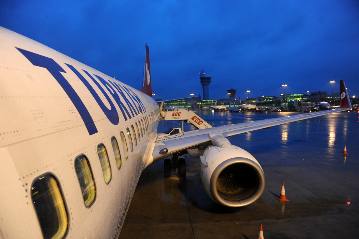 Ataturk Airport in Istanbul