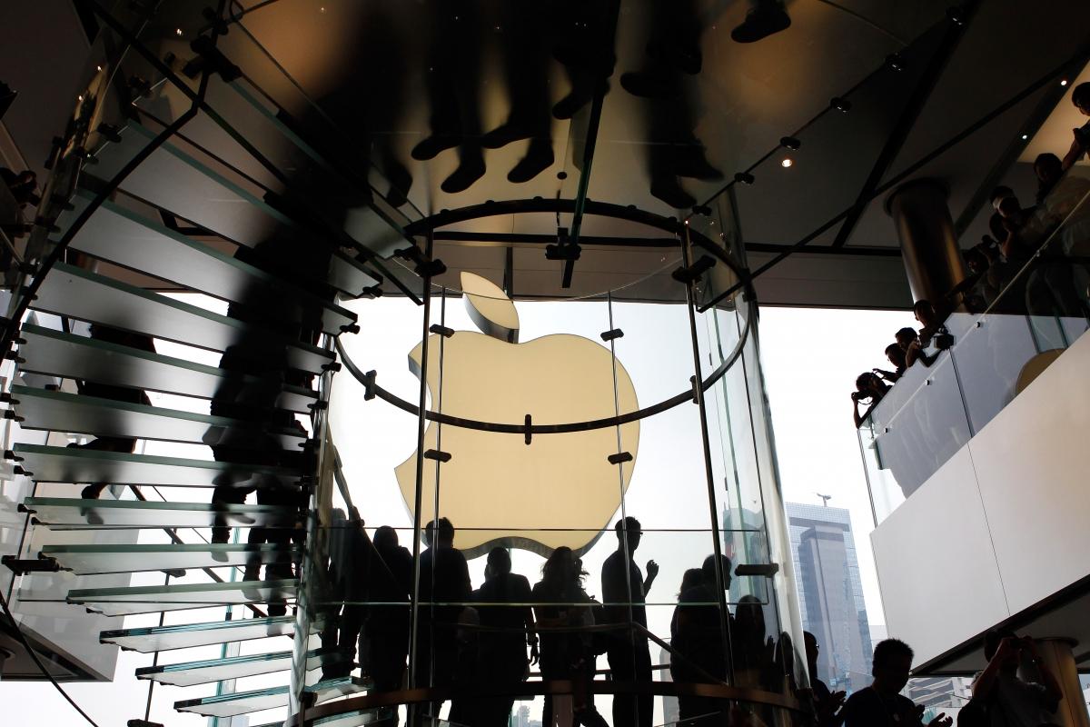 Apple China market