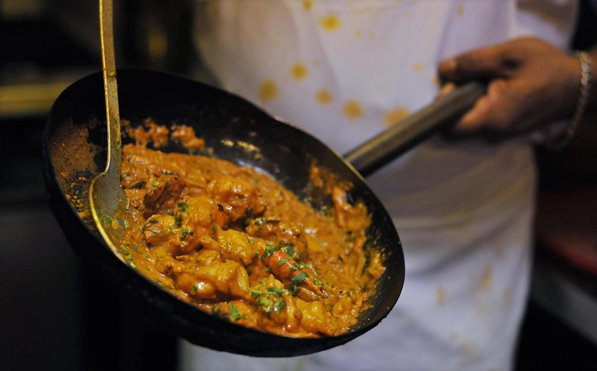 Curry restaurants