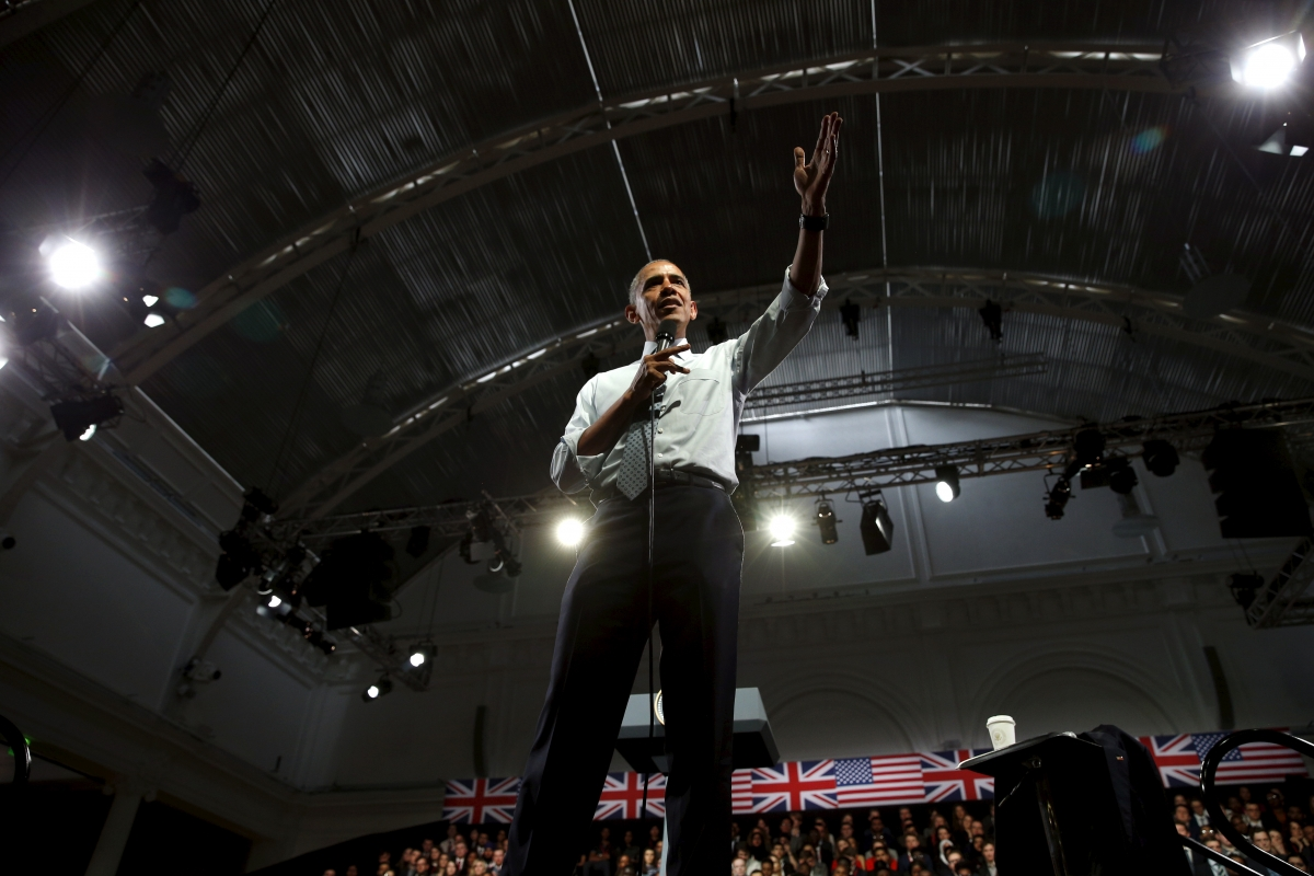 Obama\'s London town hall meeting
