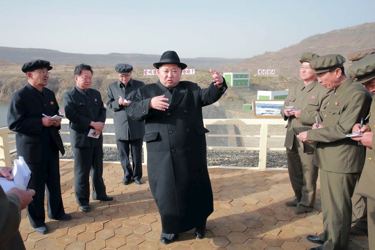 Kim Jong Un North Korea 2016