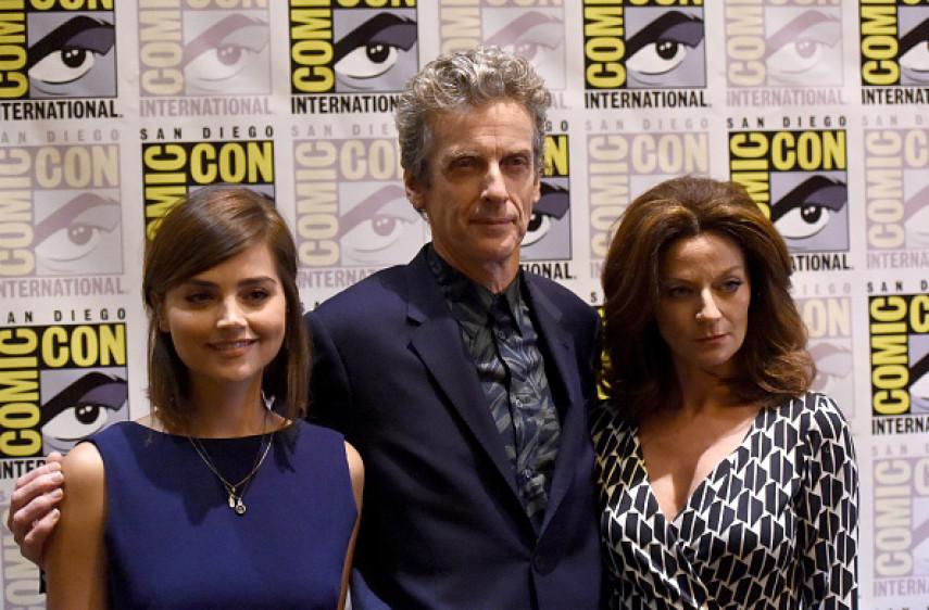 Comic-Con International 2015 - BBC America 'Doctor Who' Photo Call