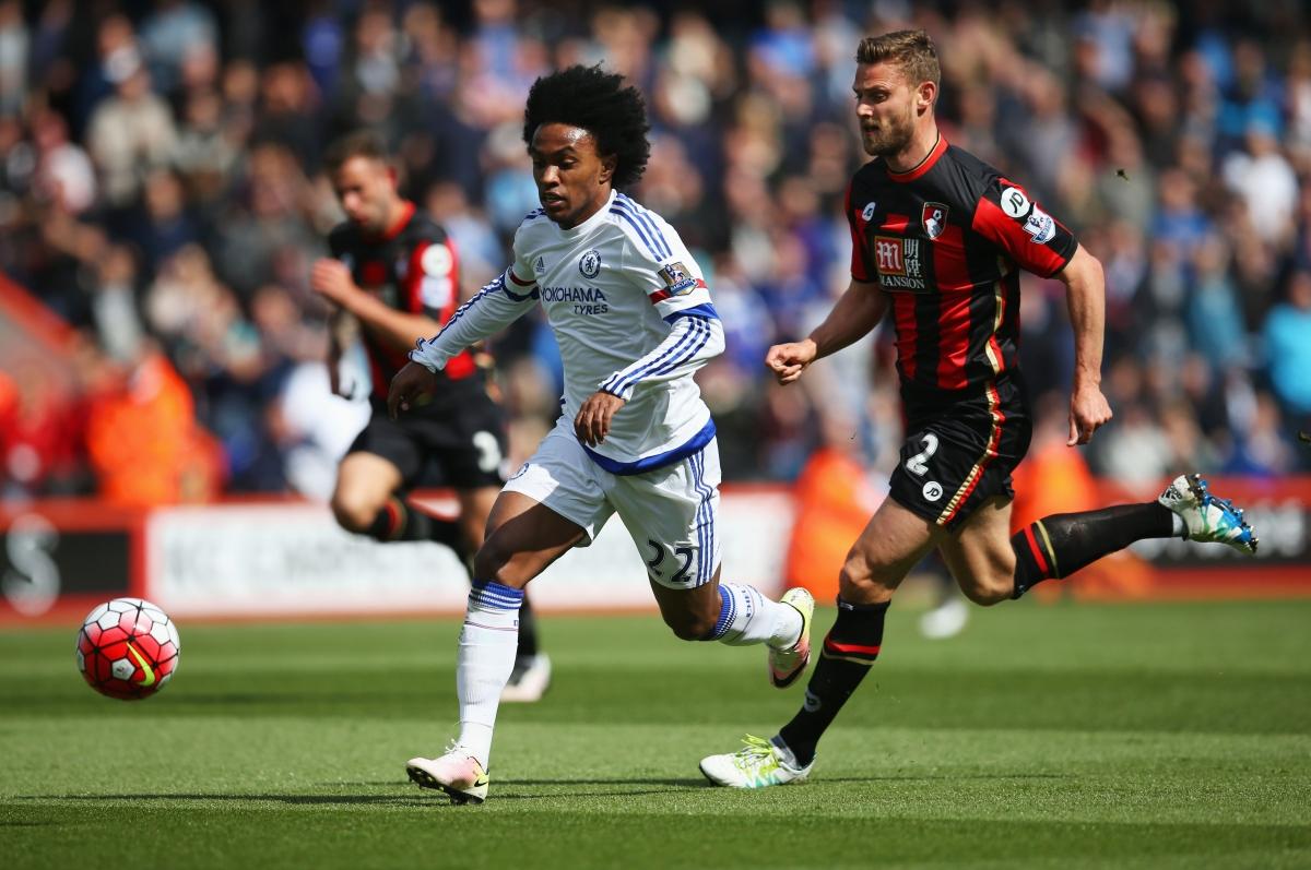Willian scored Chelsea's third