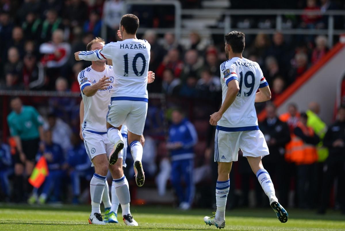 Eden Hazard enjoyed a good day