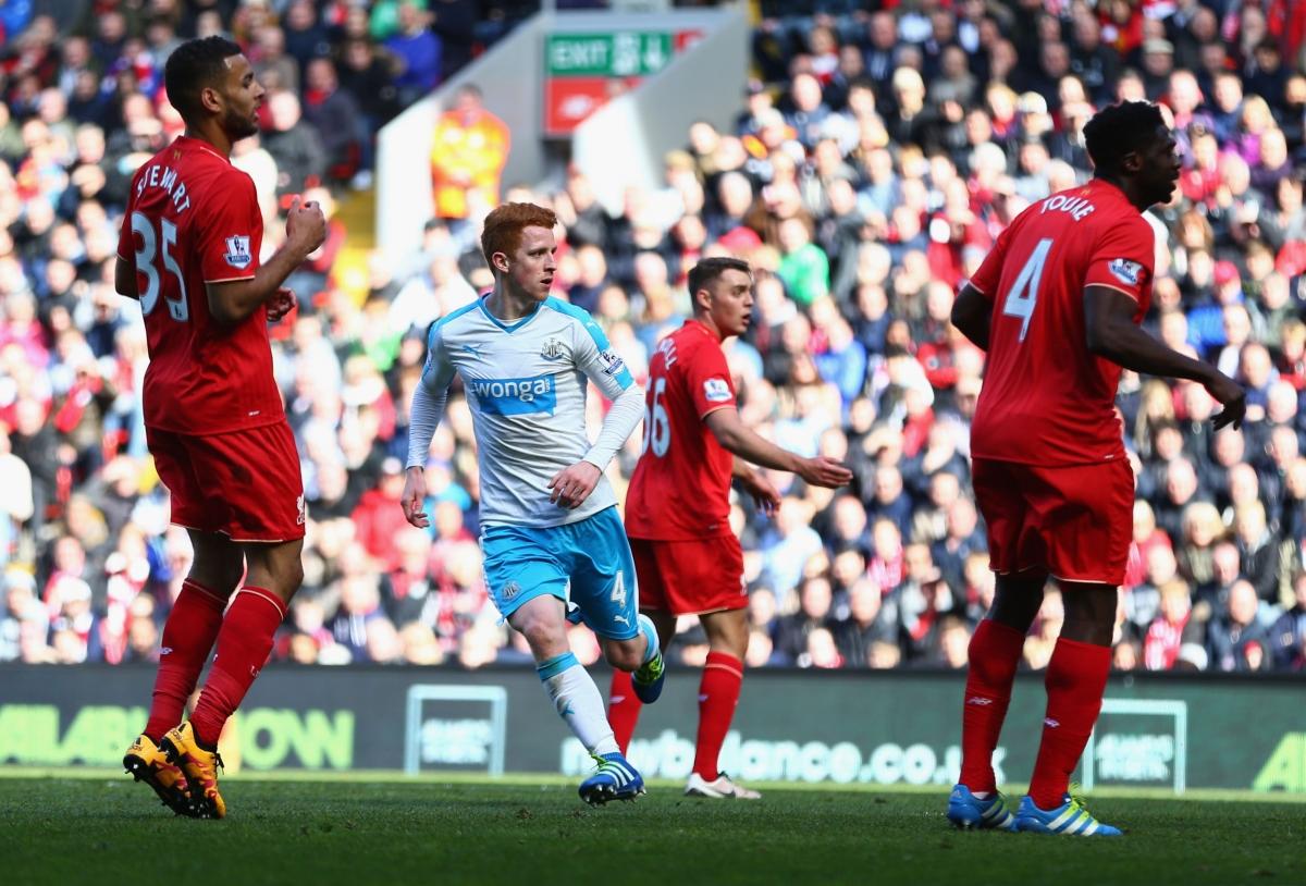 Jack Colback scored Newcastle's equaliser