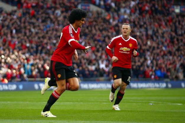 United lead at the break