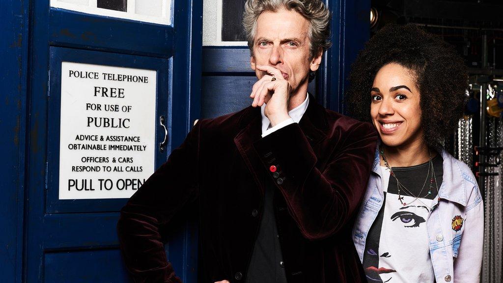 Peter Capaldi Pearl Mackie Doctor Who companion
