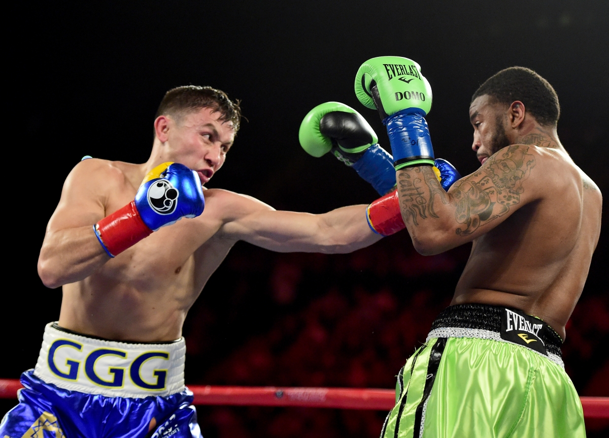 Gennady Golovkin (left) produced another stunning performance