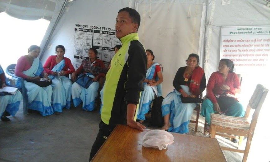 Nepal quake anniversary