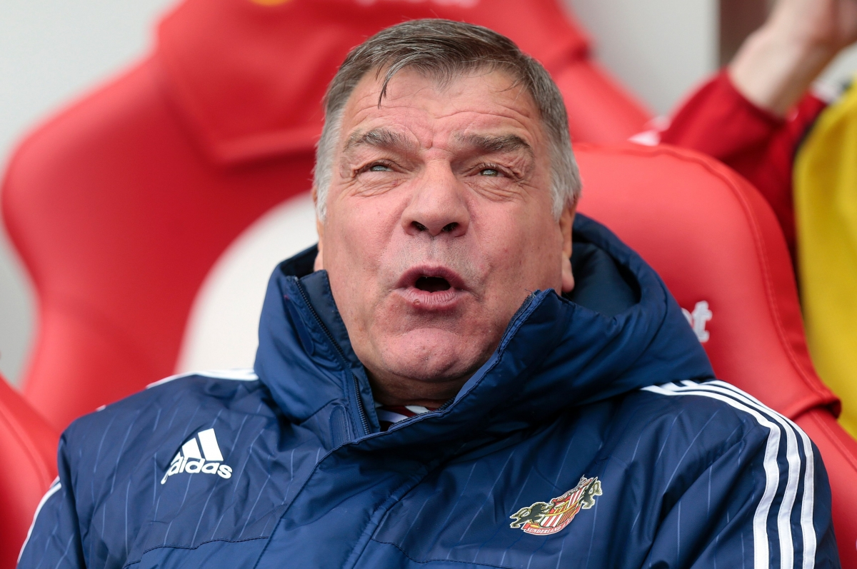Sam Allardyce rues the missed chance