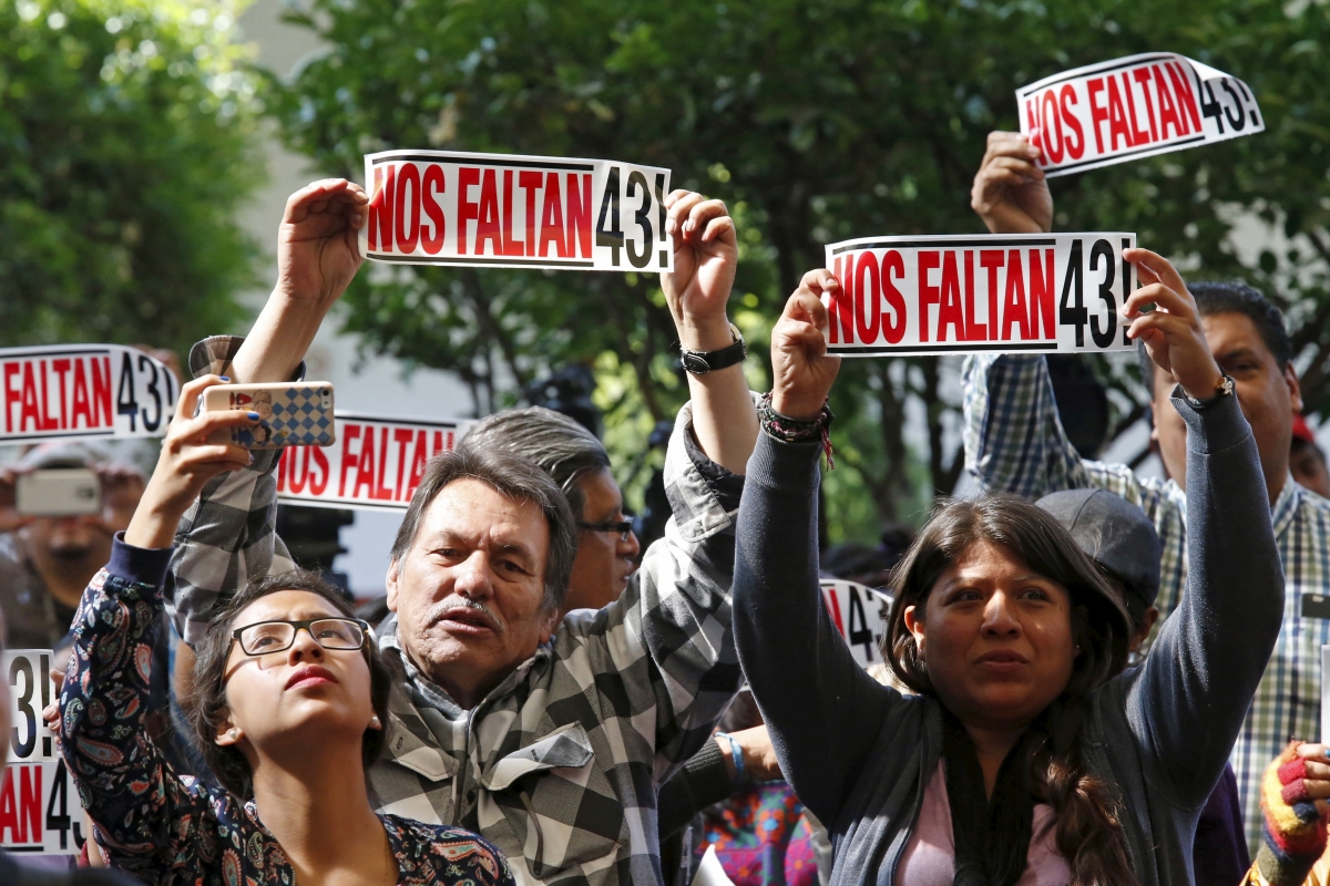 Mexico students disappearances