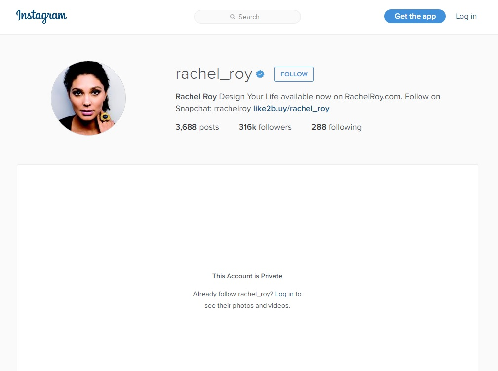 Rachel Roy Instagram