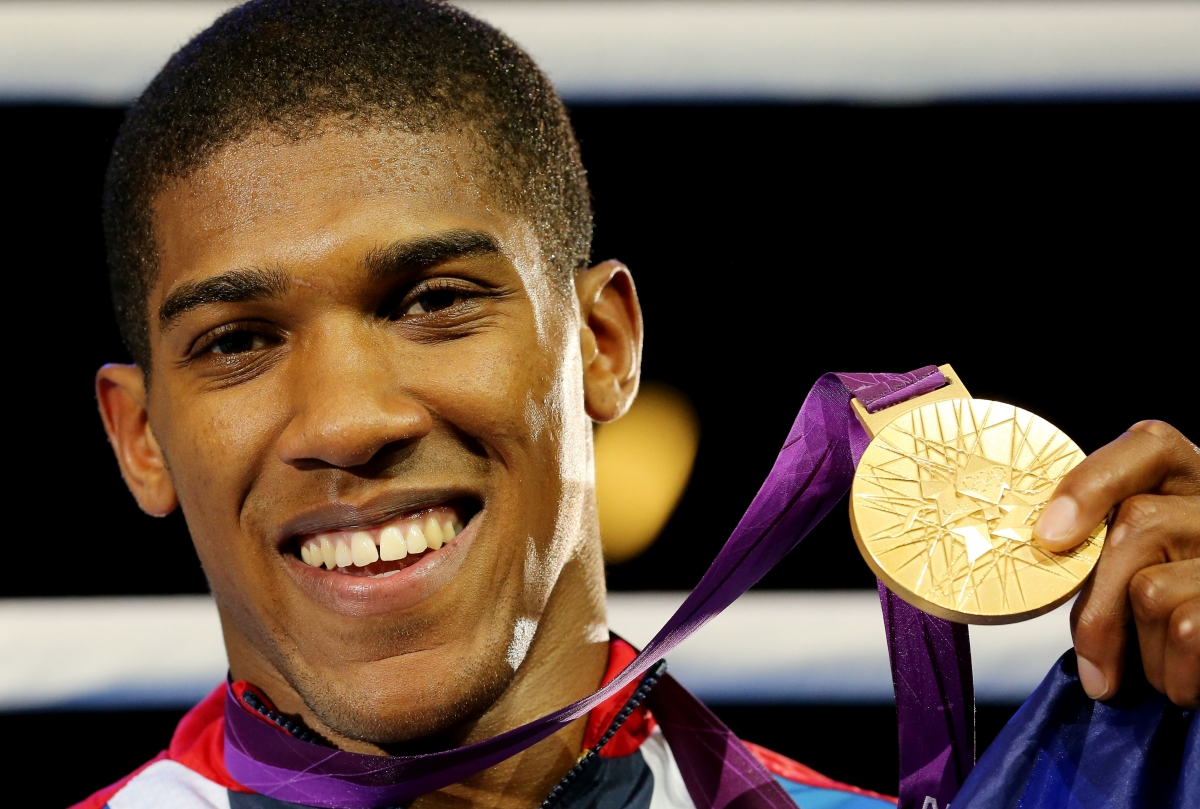 Anthony Joshua won gold in 2012