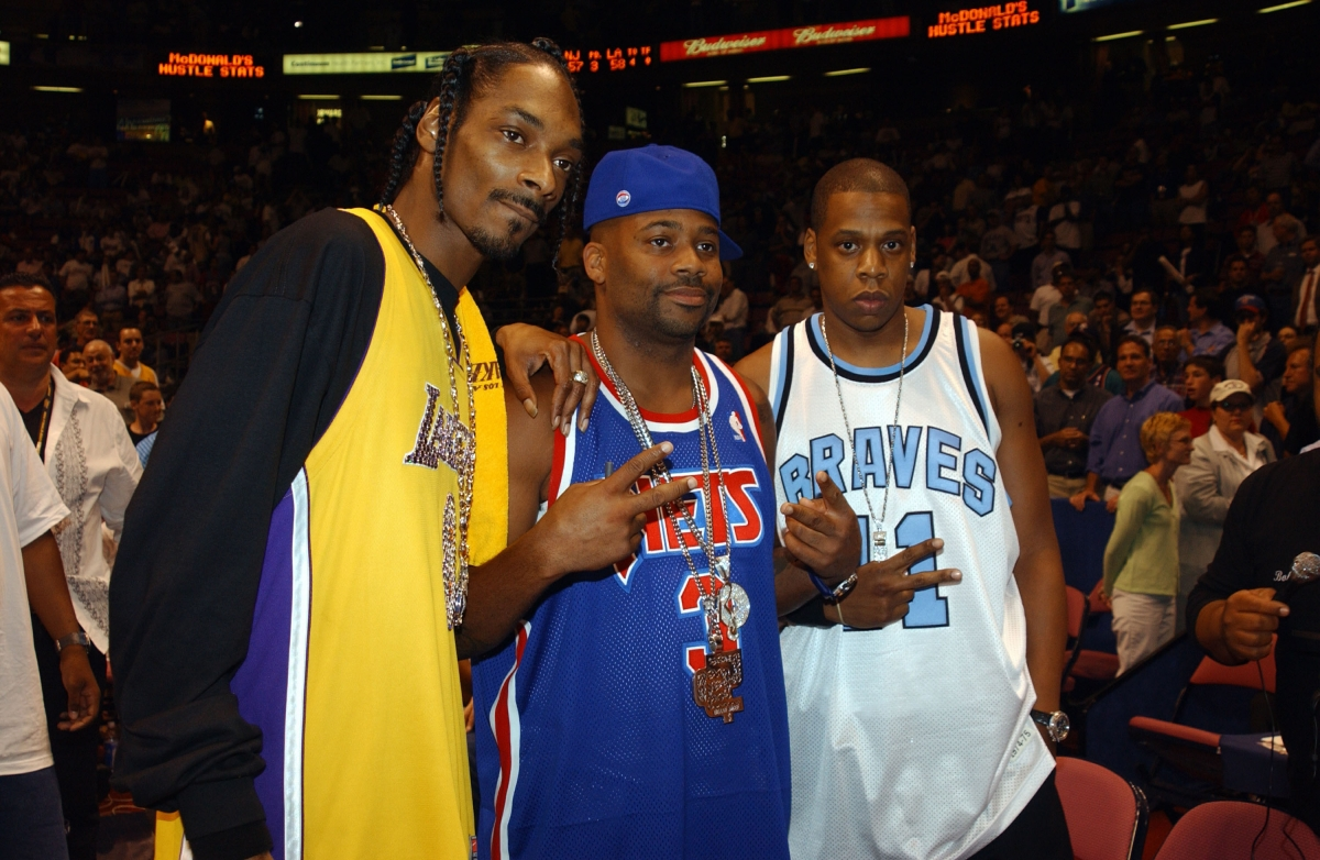 Snoop Dogg, Damon Dash and Jay Z