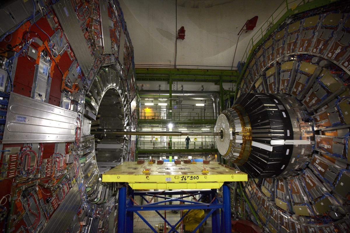 CERN Large Hadron Collider CMS detector