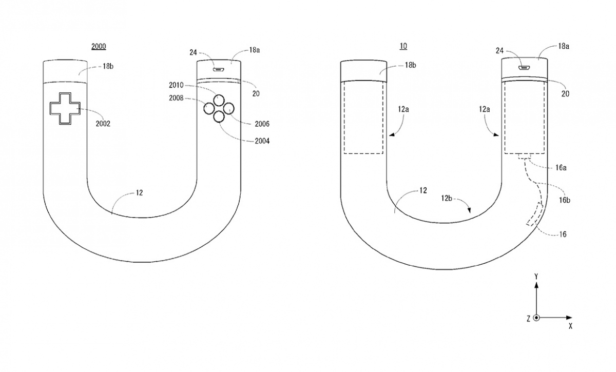 Nintendo patent on future game controller