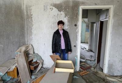 Chernobyl return to Pripyat